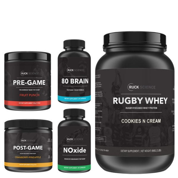 full rugby supplement stack