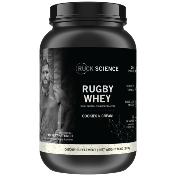 whey protein powder for rugby