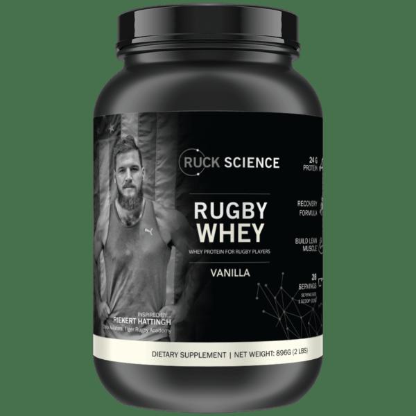 rugby whey protein vanilla