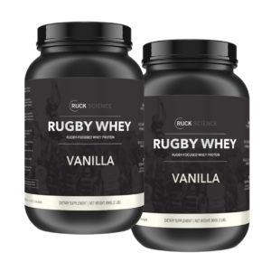 twin whey protein stack for rugby players