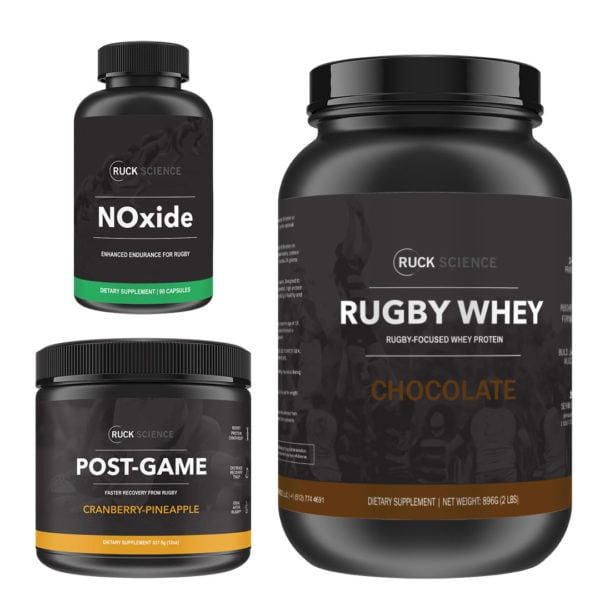 pro rugby recovery stack