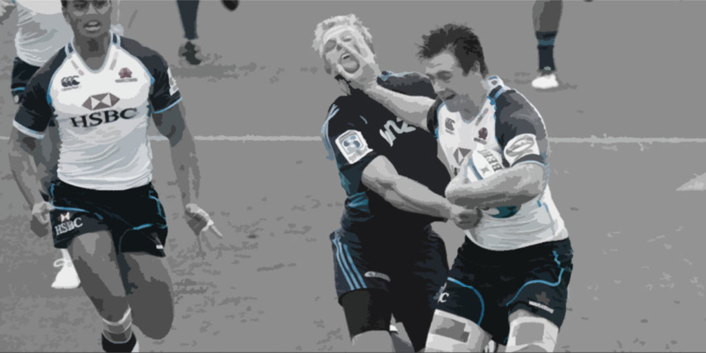 break the gain line in rugby