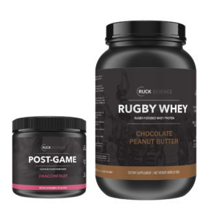 rugby recovery supplement stack