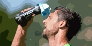 rugby player hydration