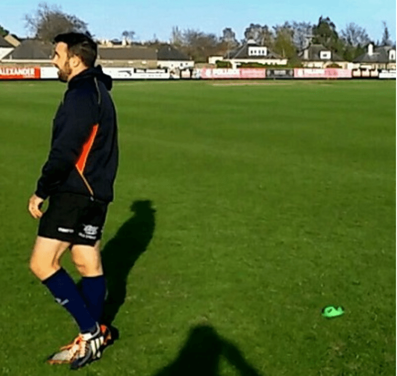 rugby goal kicking follow through