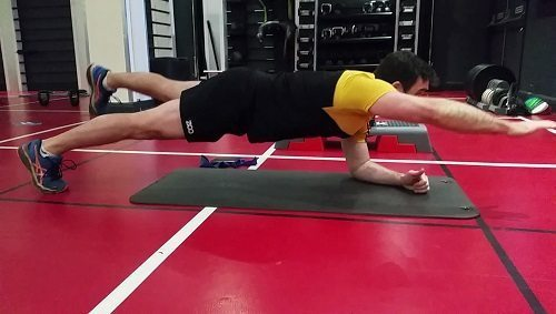 plank progression acl recovery exercise