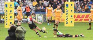 rugby goal kicking