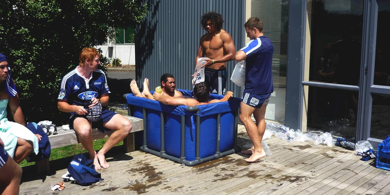 rugby ice baths