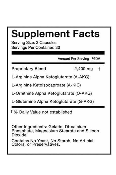 no2 max supplement facts