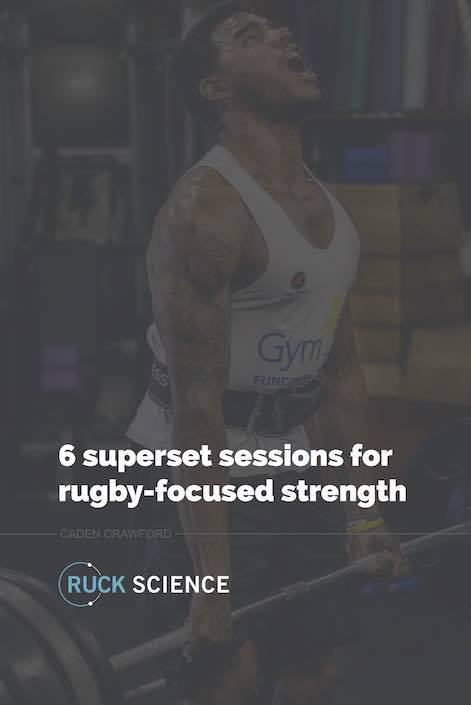 rugby strength program