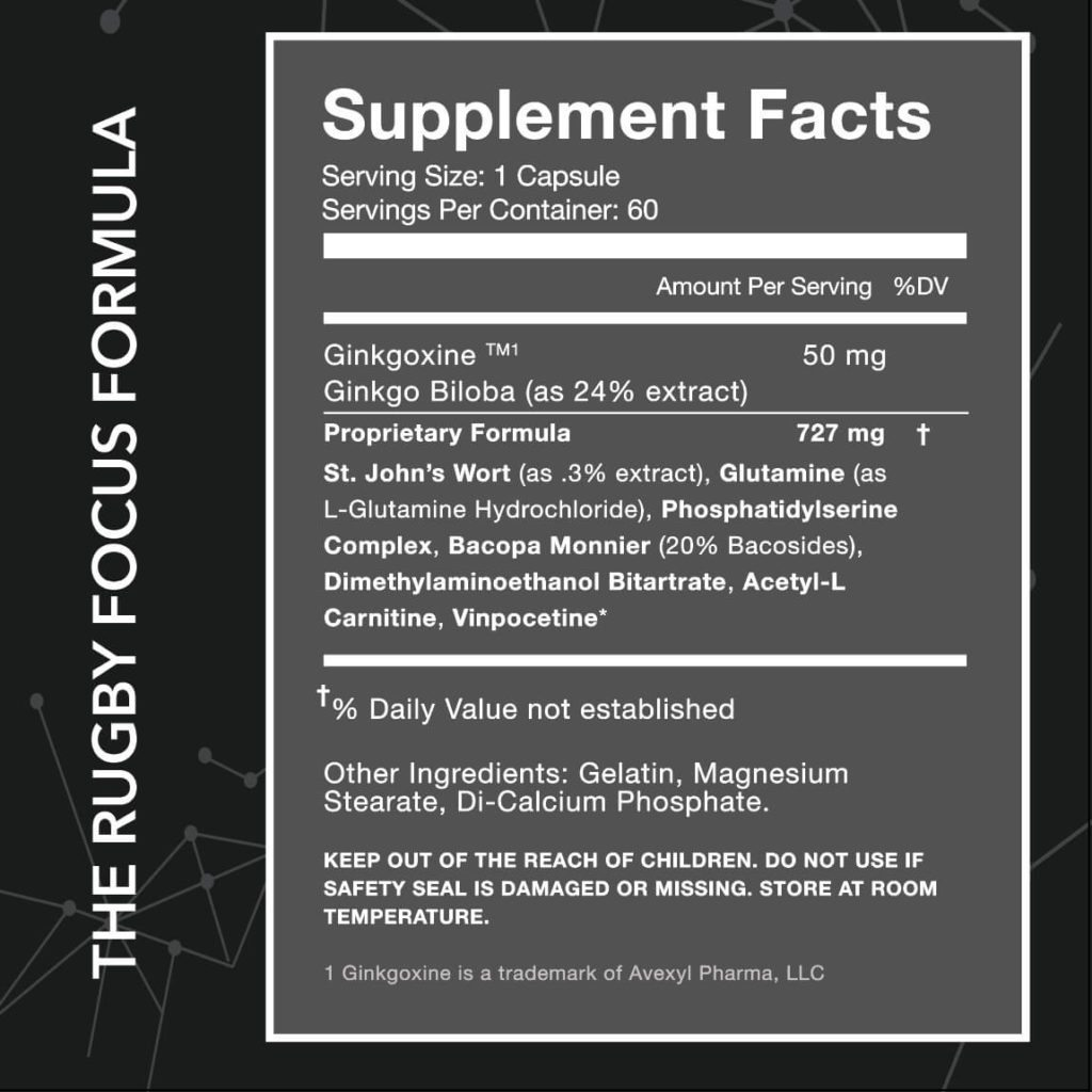 80 brain supplement facts