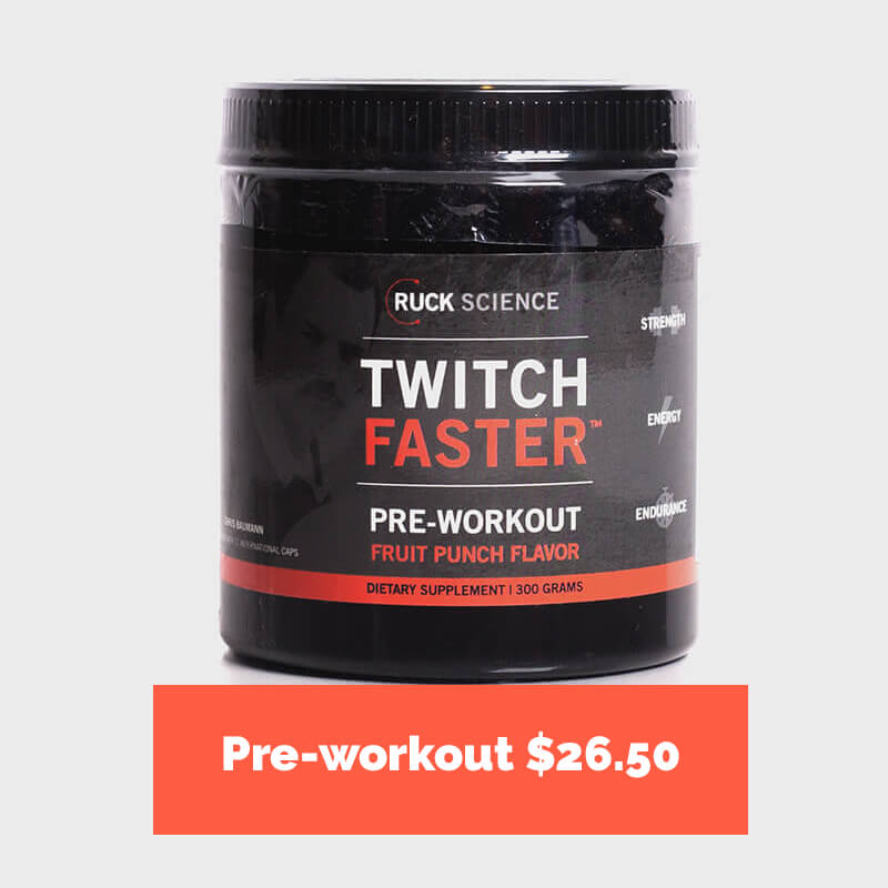 twitch faster - pre-workout for rugby players