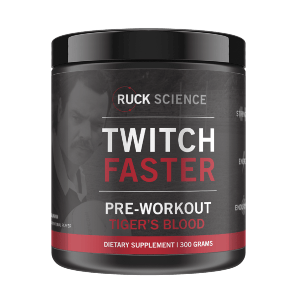 tiger's blood preworkout for rugby
