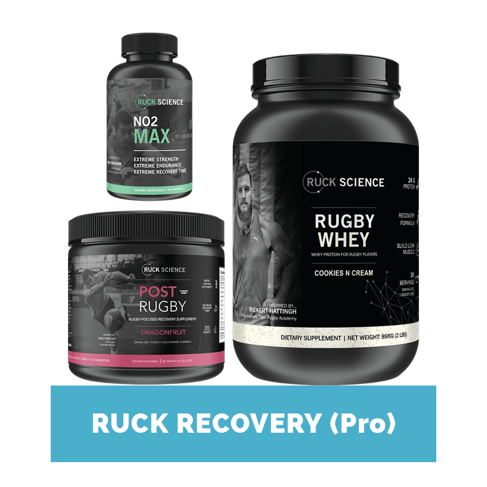 ultimate rugby recovery supplement stack