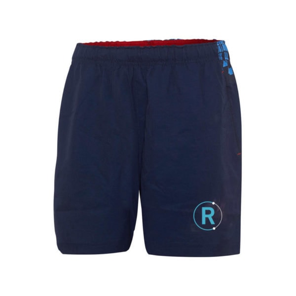 blue rugby shorts with pockets