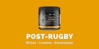 Post-Rugby - the rugby recovery formula