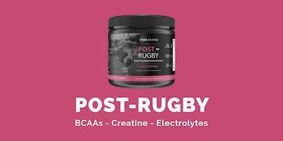 Post Rugby - the rugby recovery formula