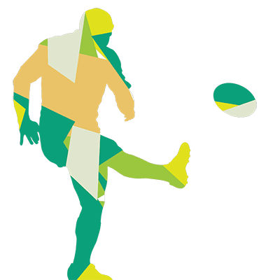 male rugby player cartoon