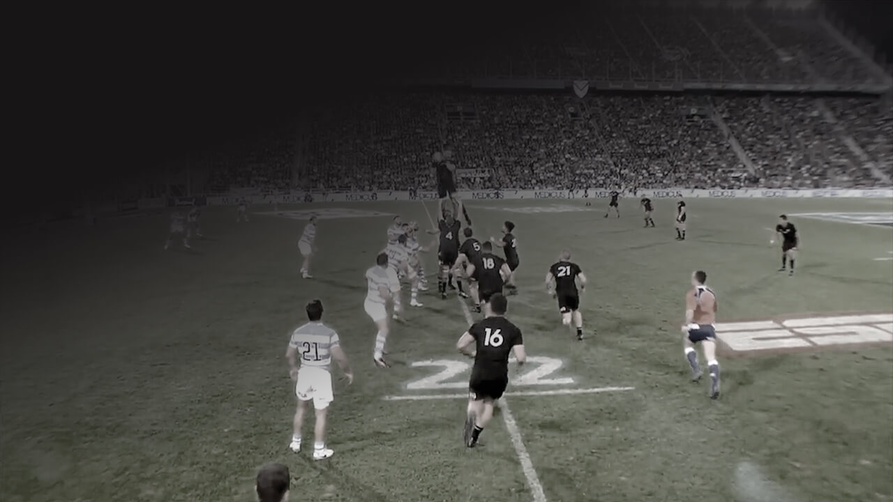 dominant all blacks lineout V argentine rugby championship