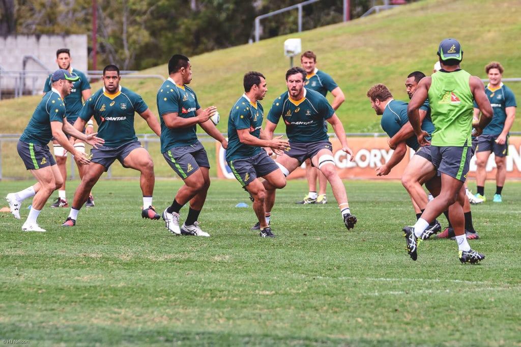 australia rugby team training