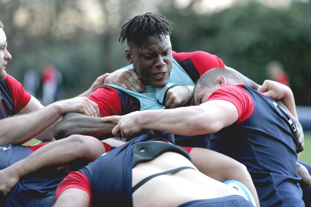 england rugby team training