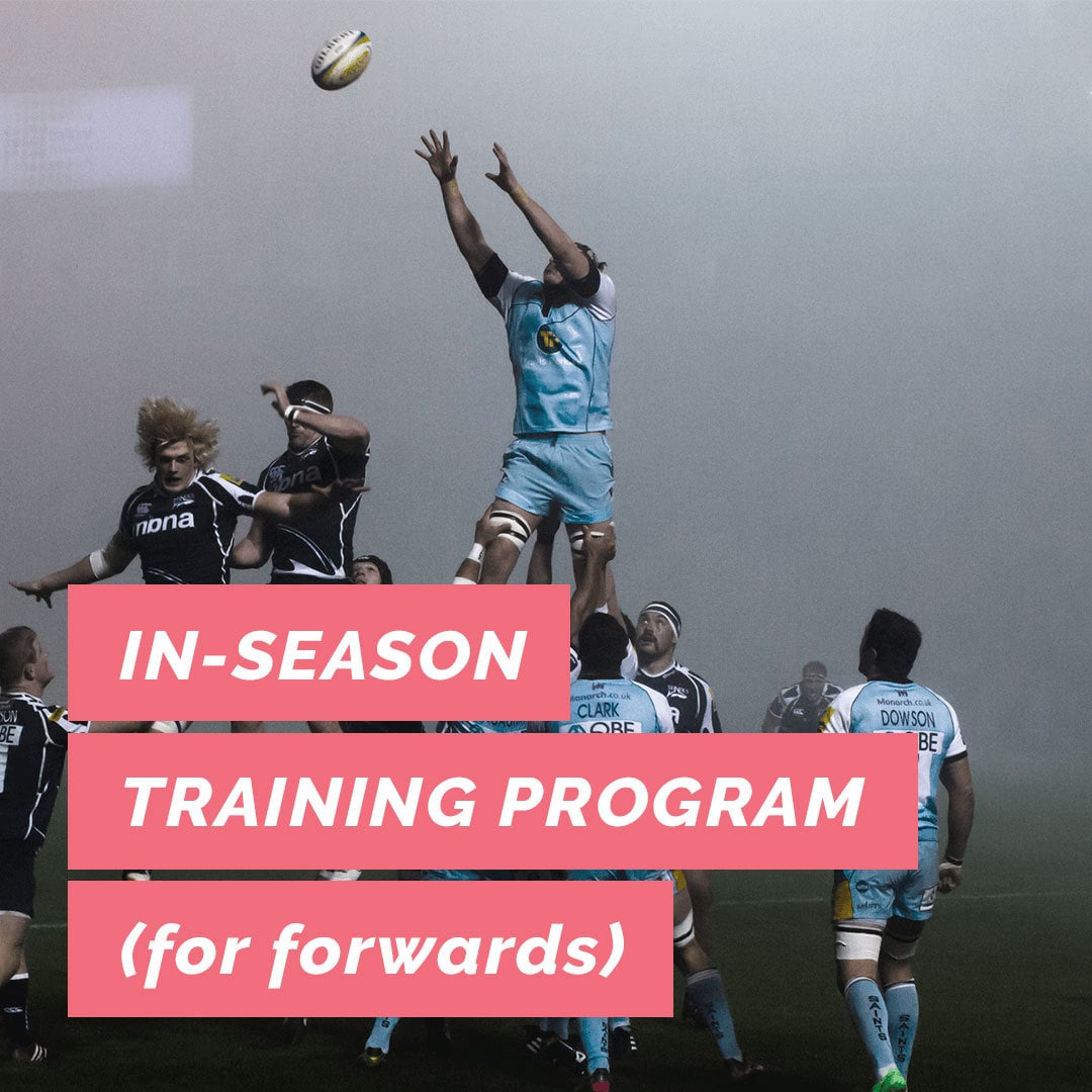In-Season Rugby Training Program (Forwards) | Ruck Science