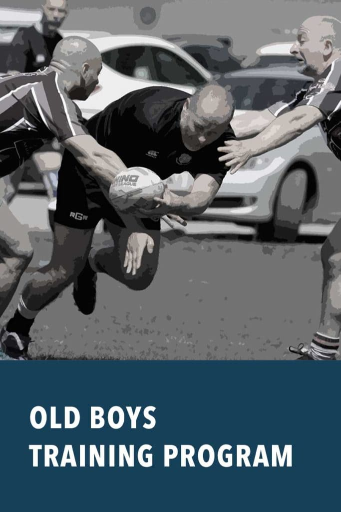 old boys rugby training program