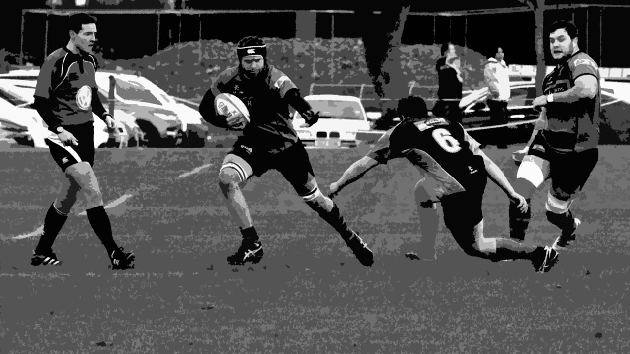 train to play rugby stay on the field
