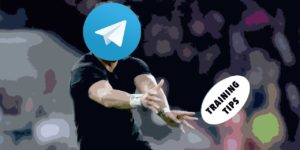 Rugby training tips on Telegram